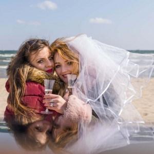 fotograf na wieczór panieński na plaży Trójmiasto