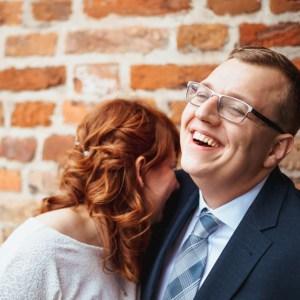 radość sesja ślub