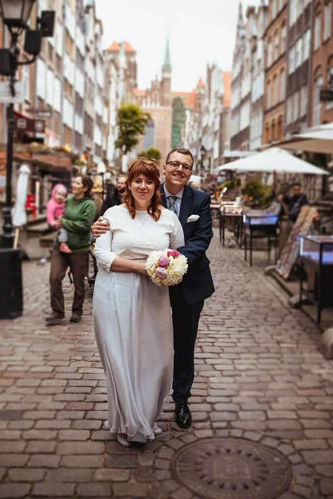 fotografia ślubna, plener ślubny Gdańsk, fotografia ślubna Trójmiasto