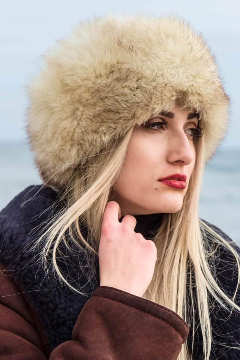 plener kobiecy zima